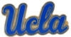 U CALIFORNIA UCLA BRUINS SCRIPT LOGO PIN