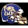 U MEMPHIS TIGER FOOTBALL HELMET PIN