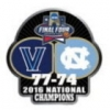 U VILLANOVA PIN 2016 NCAA NATIONAL CHAMPION PIN