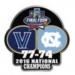 U VILLANOVA PIN 2016 NCAA CHAMPION PIN