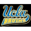 U CALIFORNIA UCLA BRUINS SCRIPT LOGO BANNER PIN
