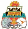 FIESTA BOWL 2009 U TEXAS LONGHORNS VS OHIO STATE BUCKEYES PIN
