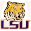 U LOUISIANA STATE LSU TIGERS HEAD PIN