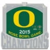 U OREGON DUCKS PIN 2015 ROSE BOWL CHAMPION UNIVERSITY OF OREGON PIN U OREGON