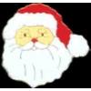 CHRISTMAS PIN SANTA CLAUS FACE PIN