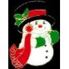 SNOWMAN CHRISTMAS PIN CHRISTMAS HOLIDAYS PINS