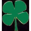 IRISH CLOVER 4 LEAF PIN