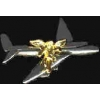 AIRPLANE GUARDIAN ANGEL PIN DX
