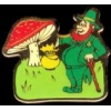 IRISH LEPRECHAUN WITH POT OF GOLD PIN