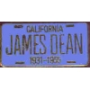 JAMES DEAN LICENSE BLUE PIN