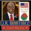 J R MARTINEZ PIN ROSE PARADE 2012 GRAND MARSHALL PIN
