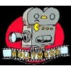 HOLLYWOOD ANIMATED MOVIE CAMERA PIN