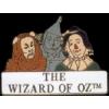 WIZARD OF OZ SCARECROW TINMAN LION PIN