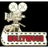 HOLLYWOOD CAMERA FILMSTRIP PIN