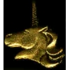 UNICORN HEAD GOLD PIN