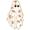 GHOST WITH SHADES IN FLOWERS SHEET LAPEL, HAT PIN