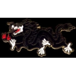 BLACK DRAGON PIN