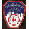 NEW YORK CITY FIRE DEPARTMENT PIN MINI PATCH NYFD HAT LAPEL PIN