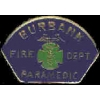 BURBANK CA FIRE DEPARTMENT PIN MINI PATCH PARAMEDIC PIN