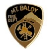 MT BALDY, CA FIRE DEPARTMENT PATCH PIN