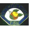 CITY OF ORANGE, CA FIRE DEPARTMENT PIN MINI PATCH PIN