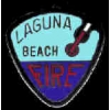 LAGUNA BEACH, CA FIRE DEPARTMENT PIN MINI PATCH PIN
