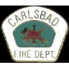 CARLSBAD, CA FIRE DEPARTMENT PIN MINI PATCH PIN