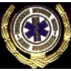 FIRST RESPONDER PIN LAUREL STYLE FIRE DEPARTMENT PIN
