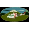 CALIFORNIA DEPT OF FORESTRY PIN CDF WHITE HELICOPTER PIN