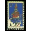 LIGHTHOUSE AMERICAN SHOALS, FLORIDA FL STAMP PIN