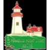 MAINE LIGHTHOUSE PIN PEMAQUID POINT LIGHTHOUSE PIN