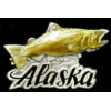 ALASKA PIN SALMON HAT LAPEL PINS