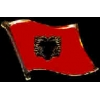 ALBANIA PIN COUNTRY FLAG PIN