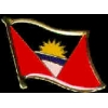 ANTIGUA BARBUDA PIN COUNTRY FLAG PIN