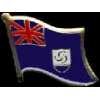 ANGUILLA PIN COUNTRY FLAG PIN