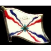 ASSYRIA PIN COUNTRY FLAG PIN