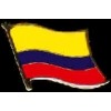 COLOMBIA PIN COUNTRY FLAG PIN