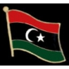 LIBYA PIN COUNTRY FLAG PIN LIBYA FLAG PIN