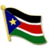 SOUTH SUDAN COUNTRY FLAG PIN