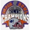 NEW ENGLAND PATRIOTS 2015 49 SUPER BOWL XLIX CHAMPIONS PIN
