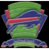 BUFFALO BILLS PIN FOOTBALL LOGO FIELD PIN