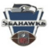 SEATTLE SEAHAWKS PIN FOOTBALL SEAHAWKS VICTORY PIN