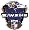BALTIMORE RAVENS PIN FOOTBALL VICTORY PIN