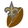 NEW ORLEANS SAINTS KICK OFF PIN