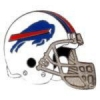 BUFFALO BILLS PIN FOOTBALL HELMET BILLS PIN