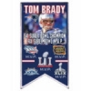 NEW ENGLAND PATRIOTS MVP TOM BRADY SUPER BOWL 51 HISTORY PIN