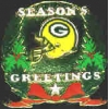 GREEN BAY PACKERS SEASONS GREETINGS PIN