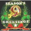 WASHINGTON REDSKINS SEASONS GREETINGS PIN