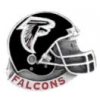 ATLANTA FALCONS HELMET CAST STYLE PIN