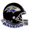 BALTIMORE RAVENS HELMET CAST STYLE PIN